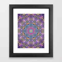 Happy Elegant Summer Cas… Framed Art Print