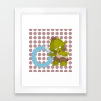 O For Orc Framed Art Print