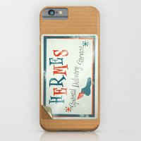 iPhone & iPod Case featuring Hermes Special Delivery Service by subpatch