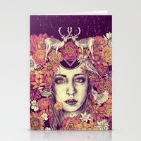 Efflorescence Stationery Cards