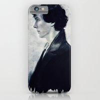 sherlock iPhone & iPod Cases featuring Sherlock by LindaMarieAnson