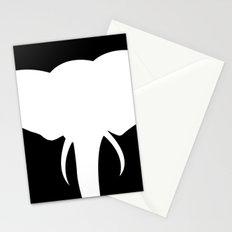 elephant shadows Stationery Cards