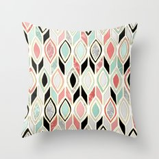 Patchwork Pattern In Cor… Throw Pillow