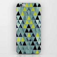 Triangle Rivers iPhone & iPod Skin