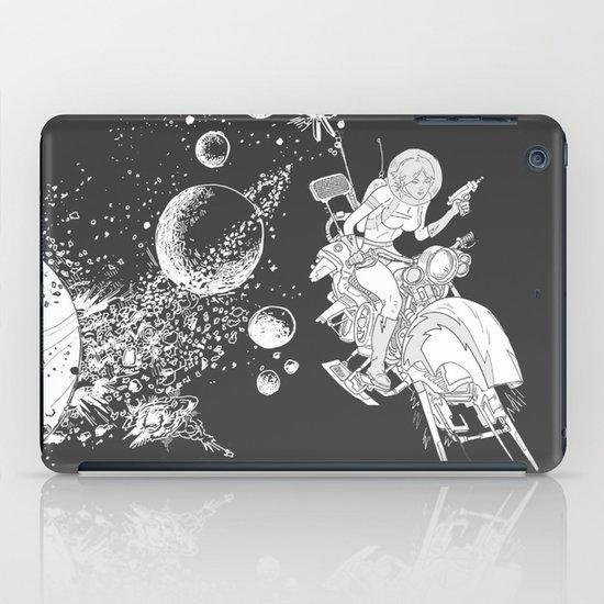 rocket lass iPad Case