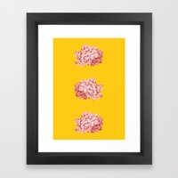 tridrangea Framed Art Print