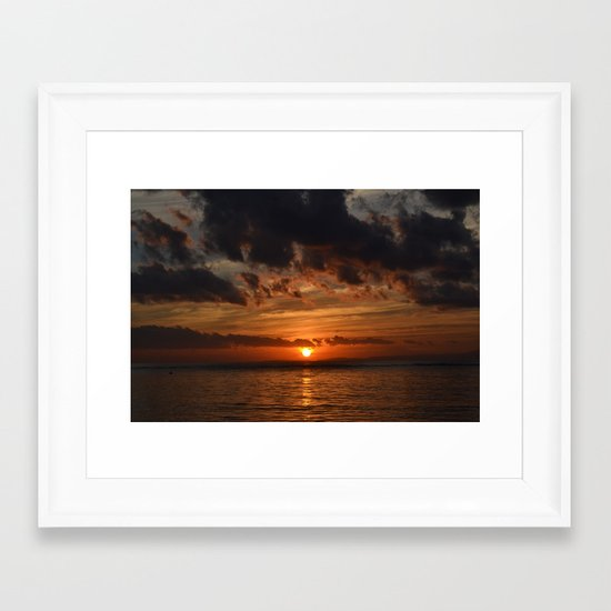 Before the Dawn Framed Art Print
