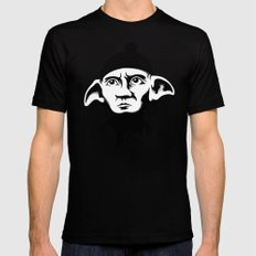 A Free Elf Mens Fitted Tee SMALL Black