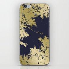 Night's Sky Gold & Midnight iPhone & iPod Skin