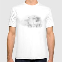 Talmadge Thunder Mens Fitted Tee White SMALL