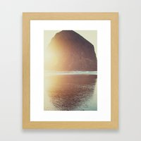 This Is Where I Want To … Framed Art Print