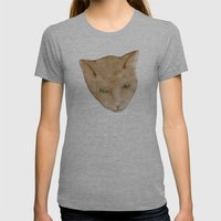 Totem Kitteh 2 Womens Fitted Tee Athletic Grey SMALL