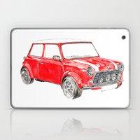Red Mini Cooper Laptop & iPad Skin
