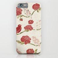 Nightingale And Rose iPhone 6 Slim Case