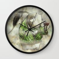 Gentlepesce Wall Clock