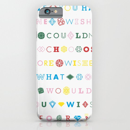 One Wish iPhone & iPod Case