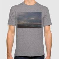 Cloudset Mens Fitted Tee Athletic Grey SMALL