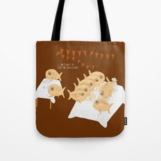 I can't wait to test the cheesecake! Tote Bag