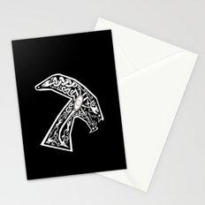Celtic xenomorph Stationery Cards