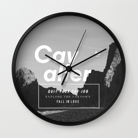 The Cavalier Wall Clock