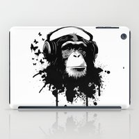 Monkey Business - White iPad Case