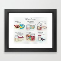 Cheap-Ass Wine Pairings Framed Art Print