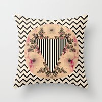 C.W. XXV I Throw Pillow