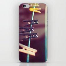 Pegs iPhone & iPod Skin