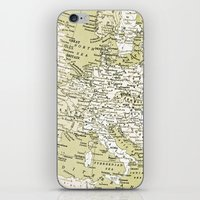 1938 Europe iPhone & iPod Skin