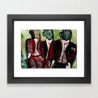 Dress Code Framed Art Print