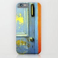 iPhone & iPod Case featuring Primary Door by Megan Matsuoka