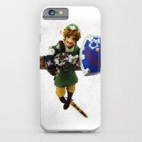 legend of zelda link snow figma iPhone 6 Slim Case