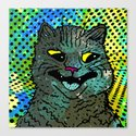 A CAT. Canvas Print
