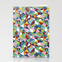 Abstraction Repeat Stationery Cards