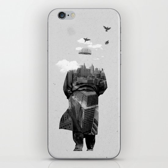 Get away from town iPhone & iPod Skin