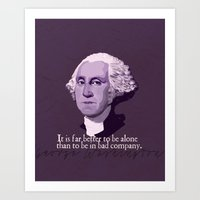 It Is Far Better To Be A… Art Print