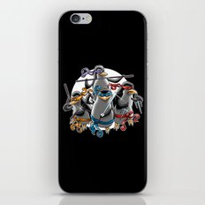 Ninja Penguins iPhone & iPod Skin