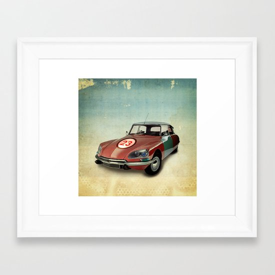 Number 23 _ Citron DS Framed Art Print