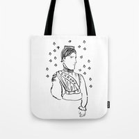 King of Clubs Tote Bag