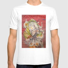father fucker 2011 Mens Fitted Tee SMALL White