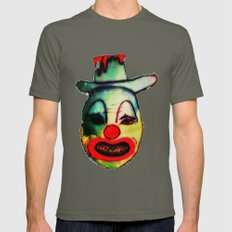 No clown - No party REVENGE Mens Fitted Tee Lieutenant SMALL