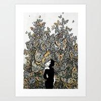 Dream 2: Suspicion of the Unknown Art Print
