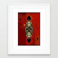 DUECES ARE WILD V2 - 002 Framed Art Print