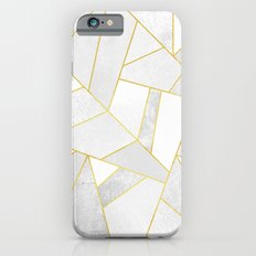 White Stone Slim Case iPhone 6s