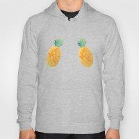 Pineapple Watercolor Hoody