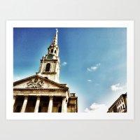 London By IPhone 2 Art Print
