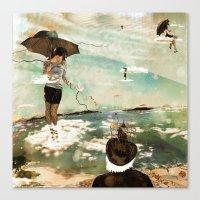 CLOUDWALKERS ONE Canvas Print