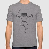 Killer Mixtape Mens Fitted Tee Athletic Grey SMALL