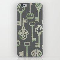 Skeleton Key Pattern In … iPhone & iPod Skin