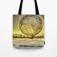 Unisphere Sunset Tote Bag